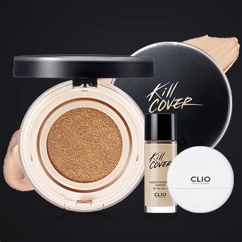 Clio Kill Cover Cushion clio kill cover liquid founwear cushion 無瑕氣墊粉底套裝 15g 20g