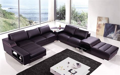 high end covered in bonded leather sectional philadelphia