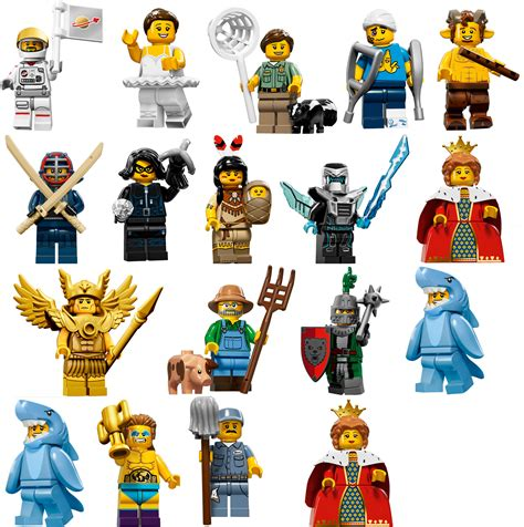 Lego Seri 16 Collectible Minifigures Series 15 Minifigure Price Guide