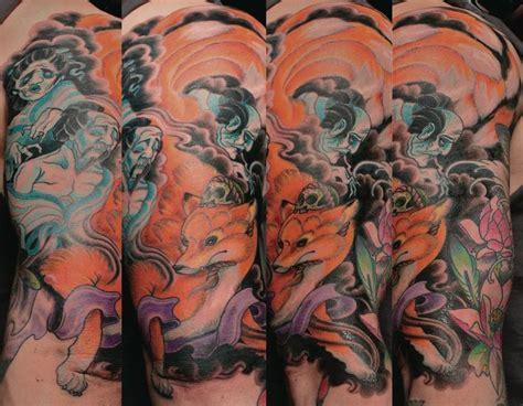 tattoo japanese fox 54 best images about kitsune on pinterest posts leg