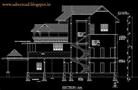 autocad section autocad project case studies tutorials tips cad