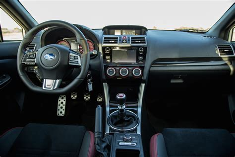 subaru interior 2016 review 2016 subaru wrx sti sport package canadian auto