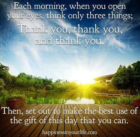 A Day Of Relaxation Thanks To Dorit by Each Morning Quote Via Www Happinessinyourlife