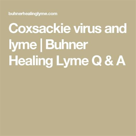 Acupuncture Detox Lyme by 12 Best Coxsackie Virus Images On Foot