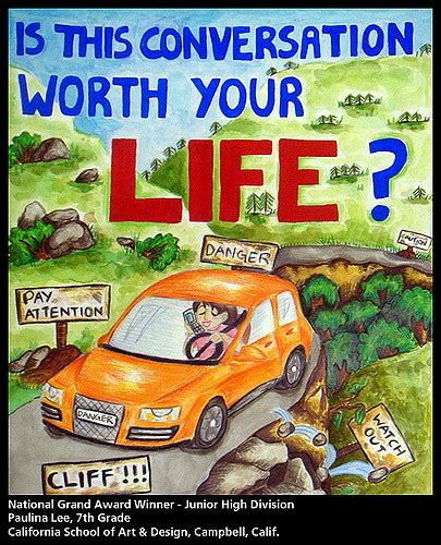 poster design road safety 2009 aaa traffic safety poster contest national winners