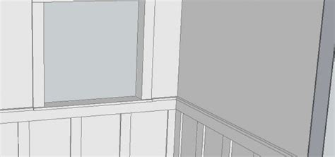 Frame And Panel Wainscoting by Free Frame And Panel Wainscoting Plans Woodwork City