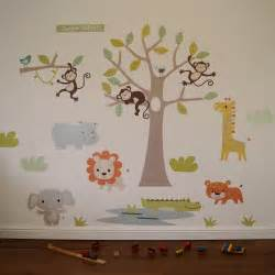 wall stickers canvas prints mugs cushions new products make bags safari jungle animals huge set nursery kids playroom vinyl decal