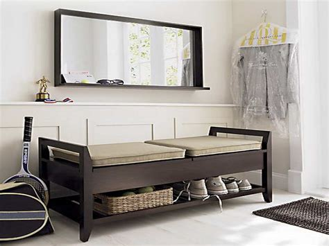 entry way storage bench bloombety entryway benches with storage with the shoes