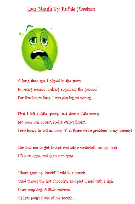 silly poems school poems for images