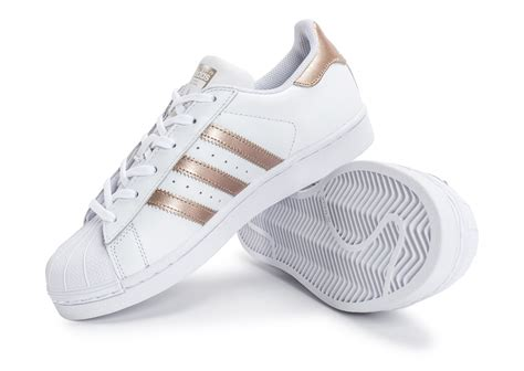 adidas rose gold cheap adidas superstar rose gold white shoes