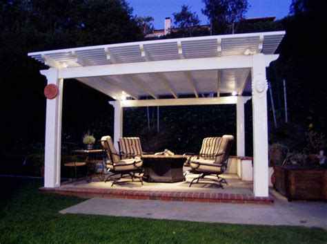 Covered Patio Lighting Patio Covers And Awnings Mission Viejo Ca 92691 Angies List