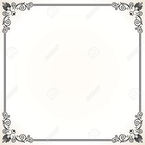 clipart per word home office ornate border stock illustrations cliparts