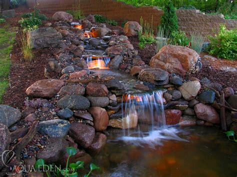 backyard ponds waterfalls pictures koi pond waterfall