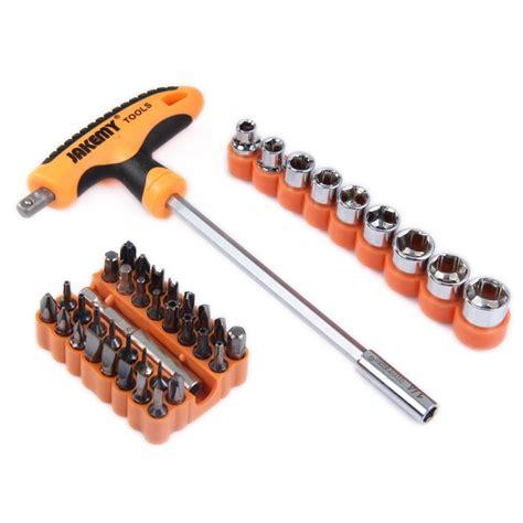 Jakemy 41 In 1 T Handle Screwdriver Set Jm 6106 41 in 1 t handle auto maintenance tool set jakemy jm 6106 the gadget