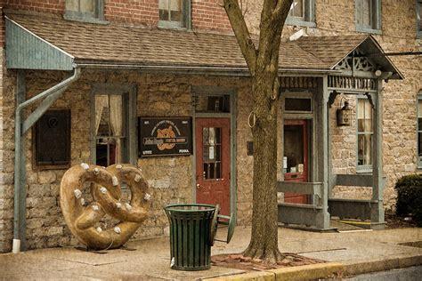 sturgis pretzel house julius sturgis pretzel factory mixed media by trish tritz
