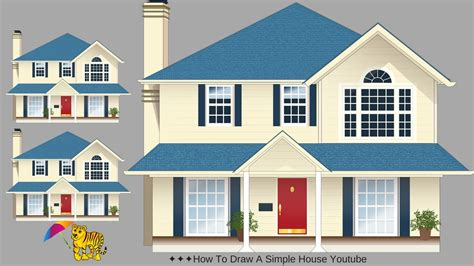 how to draw a house kids pinterest house drawing drawings and how to draw a simple deep house youtube draw a simple