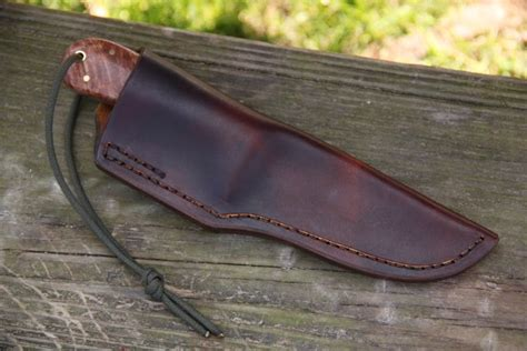 Handmade Leather Sheaths - handmade leather sheath lucas forge