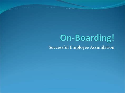 Onboarding Powerpoint Presentation New Hire Orientation Presentation Template