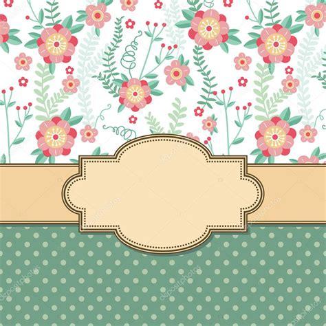 imagenes retro vector marco flores vintage vector de stock 169 sntpzh 27462097