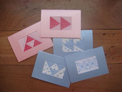 Patchwork Cards - patchwork cards sewwitty