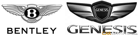 hyundai genesis bentley logo the v8 genesis badge winged page 2