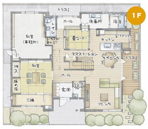 One Bedroom House Floor Plans 間取り Pictures To Pin On Pinterest