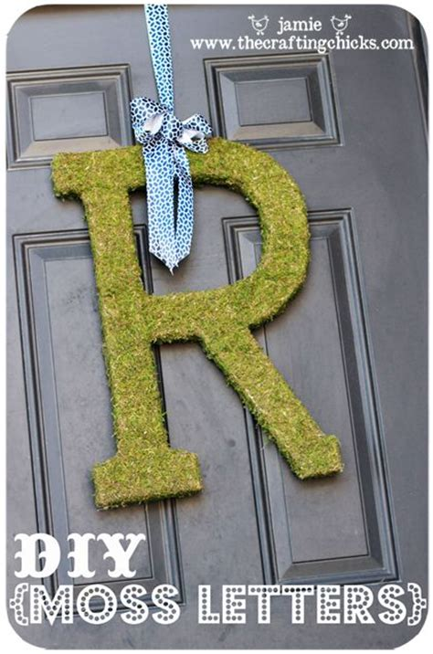 diy moss letters crafting moss covered letters and