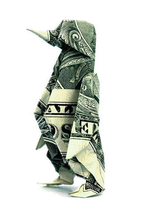 Paper Money Folding - one dollar bill origami paper craft dollar