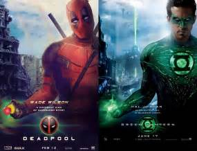 deadpool x green lantern poster by m7781 deadpool