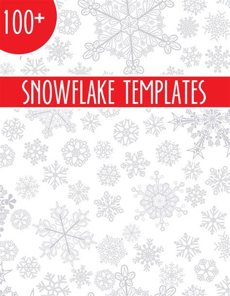 frozen snowflake templates 100 snowflake templates