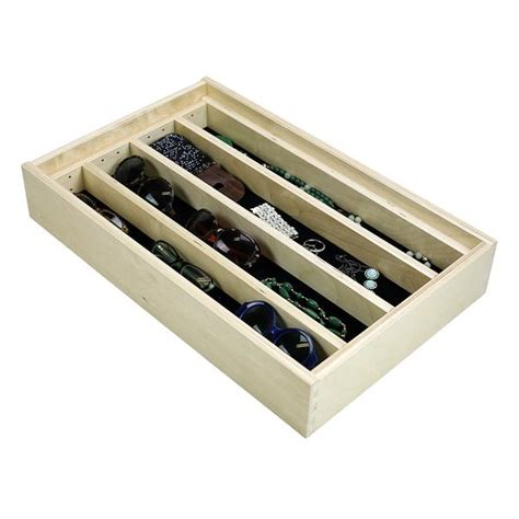 Jewelry Tray Drawer Inserts by Jewelry Tray Organizer Insert G Cl 24 203 22 3 8 Quot Wide