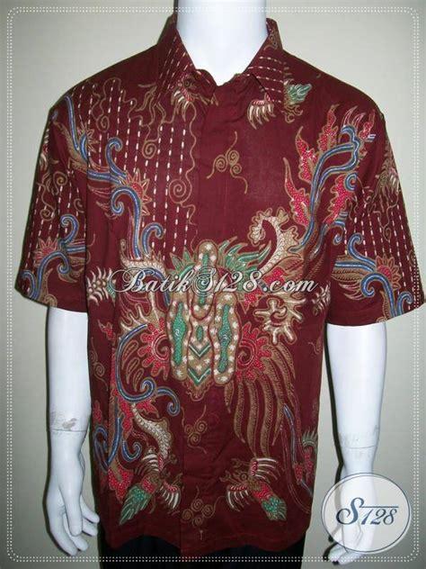 Baju Batik Warna Merah baju batik tulis warna merah untuk pria pemberani dan tangguh ld514t xl toko batik