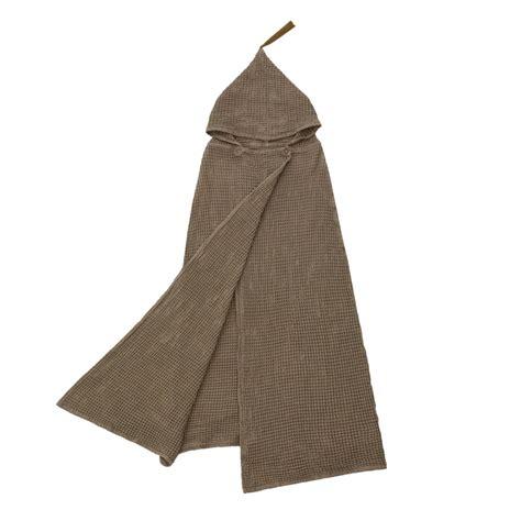 poncho handdoek lidor poncho handdoek dun beige