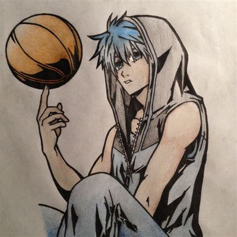 anime basketball kuroko no basket sketch basketball anime sport art