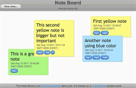 javascript tutorial notes local storage storing sticky notes on your machine with html5