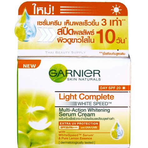 Garnier Serum Lightening garnier light white speed skin whitening day serum 18ml
