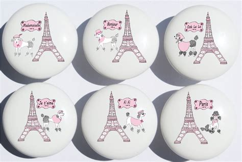 eiffel tower cabinet knobs poodles in drawer pull knobs eiffel tower