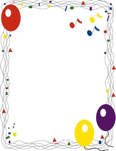 Free Printable Birthday Borders And Frames Best Happy Birthday Wishes Free Printable Birthday Borders And Frames