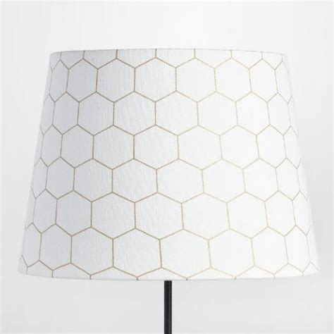 world market l shades gold honeycomb cotton table l shade world market