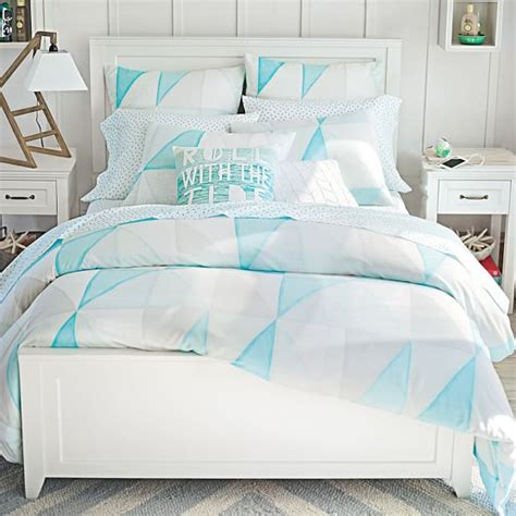 pbteen bedding kelly slater organic cloudbreak duvet cover sham pbteen