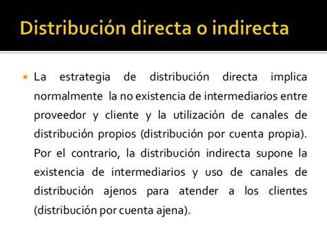 por cuenta propia canales de distribucion capitulo iii