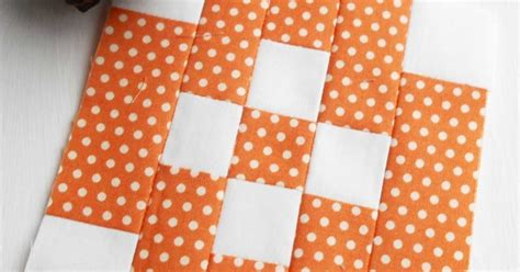 Patchwork Block - the patchsmith patchwork sew quilt along block 1