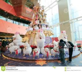 Decorating A Bay Window christmas decoration in mega box shopping mall editorial