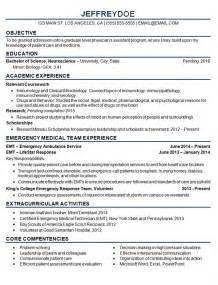 Student Resume Objective Exles by Student Resume Exle Sle
