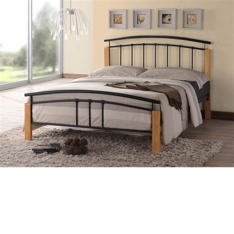 double bed frame tetras black metal bed frame 4ft small double
