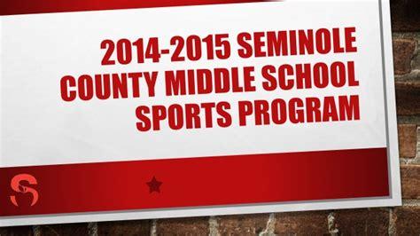 South Seminole Middle School Clubs 2014 2015 seminole county middle school sports program