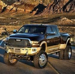 one sweet lifted dodge ram dually vehicles trucks