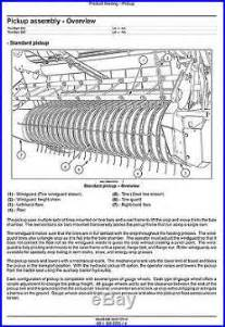 new holland roll belt 450 460 550 560 round baler service