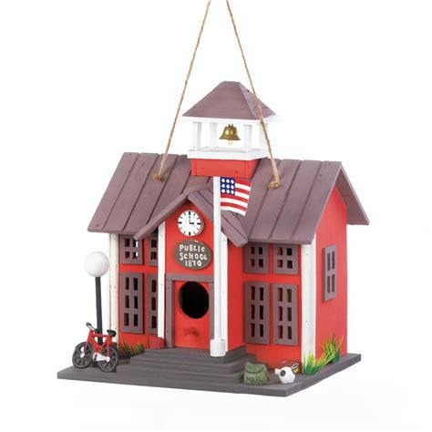 wholesale barber shop birdhouse birdhouses home public school birdhouse fairy s gifts collectibles