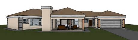single story four bedroom house plans